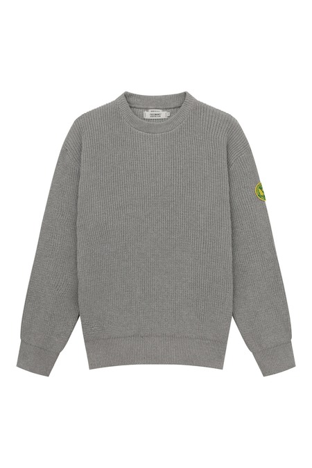 Freemans Sporting Club Plain Front Crewneck Sweater - Heather Grey