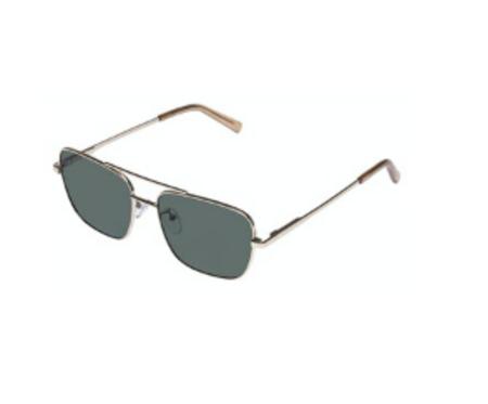 Le Specs Hercules eyewear - Gold/Stone