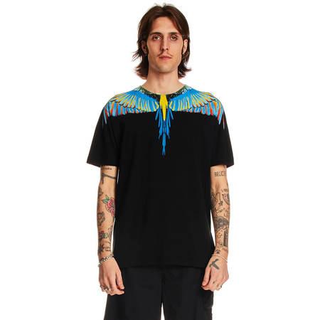 MARCELO BURLON Birds wings t-shirt - Black