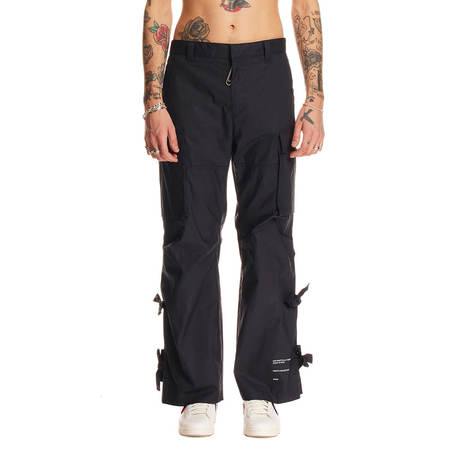 OFF-WHITE Excess cargo pants - Blue