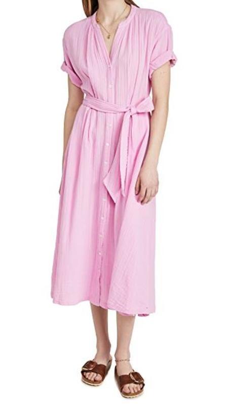 Xirena Cate Gauze Dress - Pretty Pink