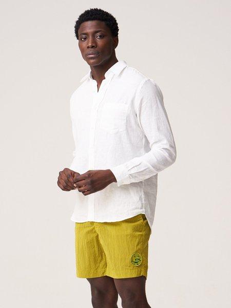 Freemans Sporting Club CS-1 Linen Shirt - White