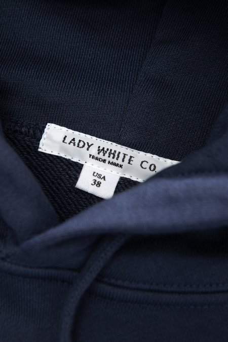 Lady White Co. Classic Fit Hoodie sweater - Cadet Navy