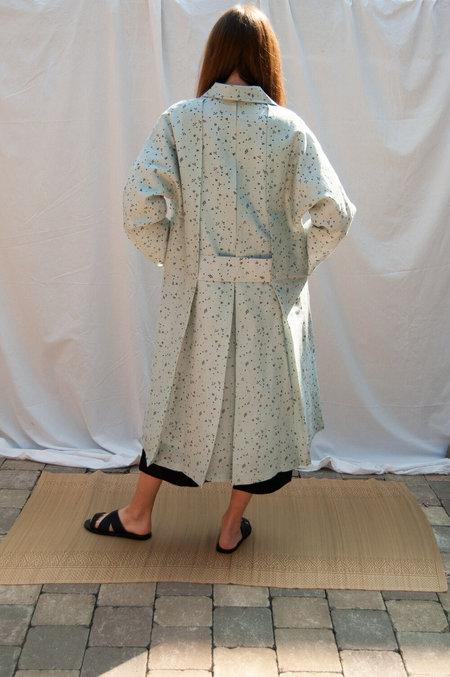 Bunon Tuck Coat - light blue