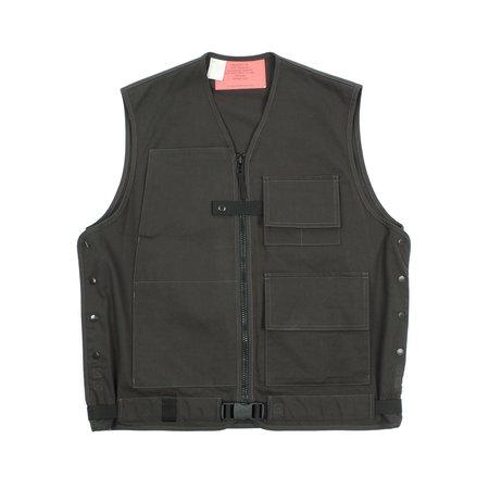 N.hoolywood Belted Cargo Vest - Black