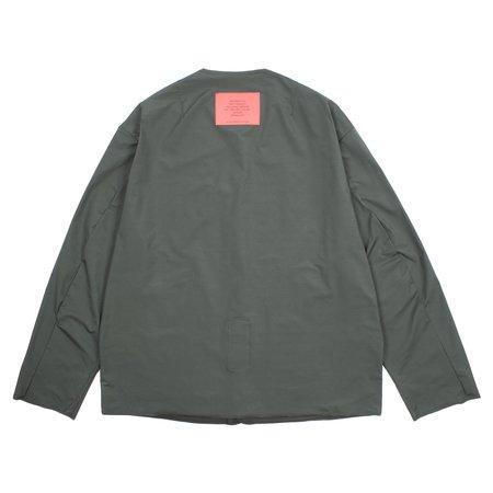 N.hoolywood Cardigan Shirt - Charcoal