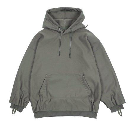 N.hoolywood Hooded Shirt - Gray