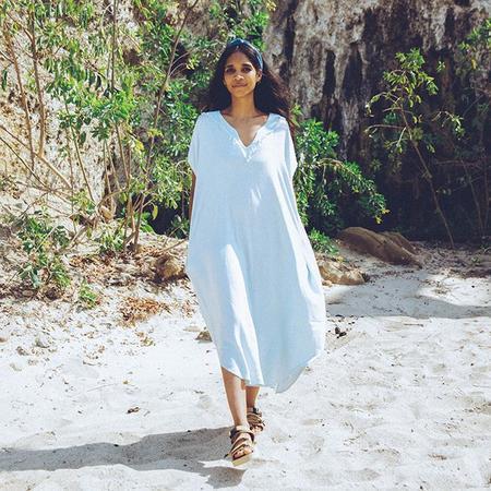 Nico Nico Dey Kaftan Dress - White
