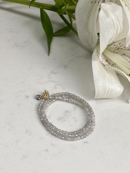 The Loved One Labradorite Wrap Bracelet