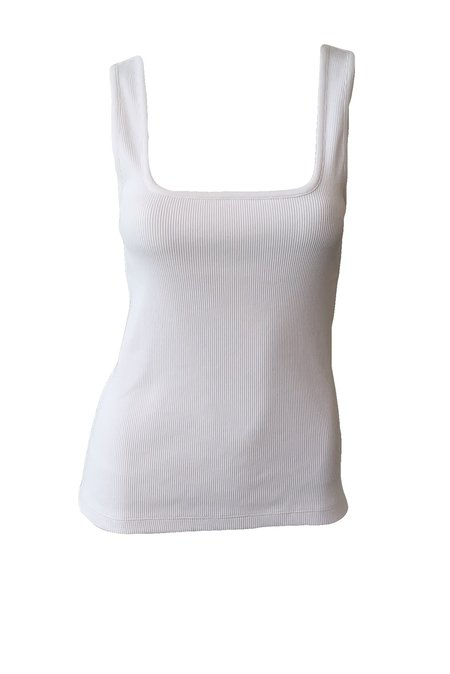 SOLD OUT The Hip to Be Square Tank - White