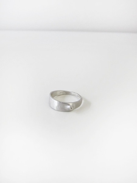 Quarry Cudo Ring w/White Diamond