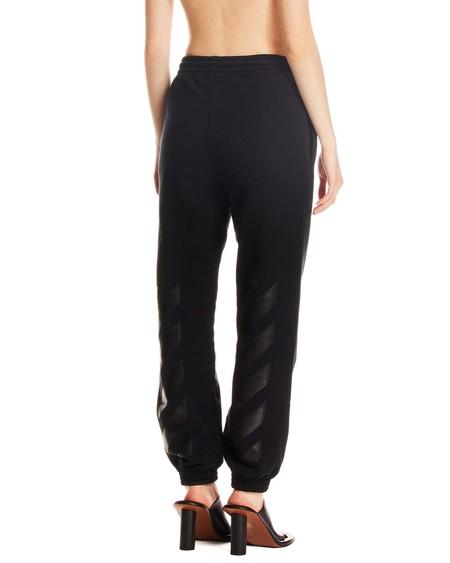 Off-White Striped Track Pants - black