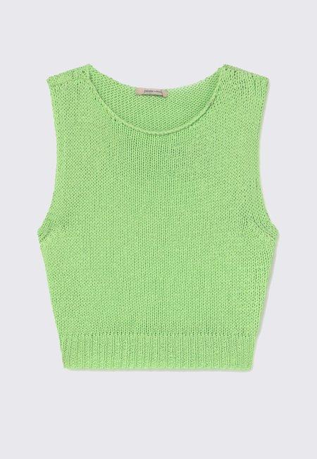 Paloma Wool Jigglypuff Top - Green Fluor