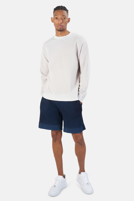 Cotton Citizen Bronx Crew Sweatshirt - Vintage White stone
