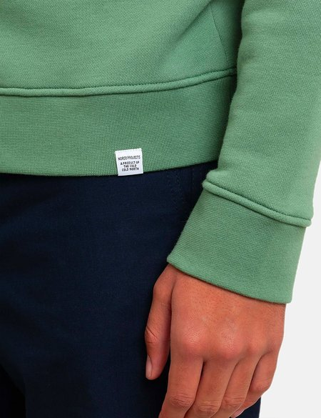 Norse Projects Vagn Classic Sweatshirt - Lichen Green