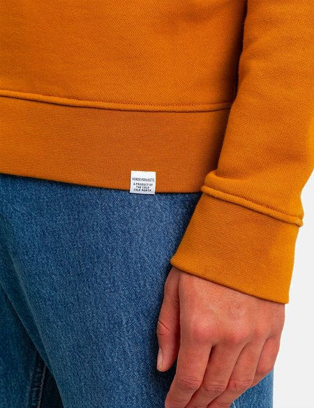 Norse Projects Vagn Classic Sweatshirt - Oxide Yellow