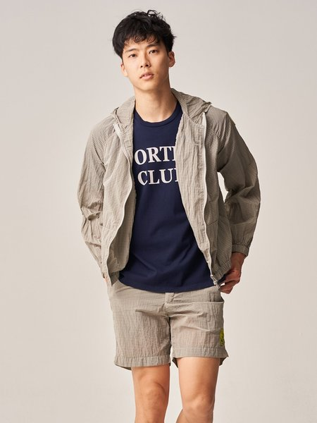 Freemans Sporting Club Hooded Rain Jacket - Tan