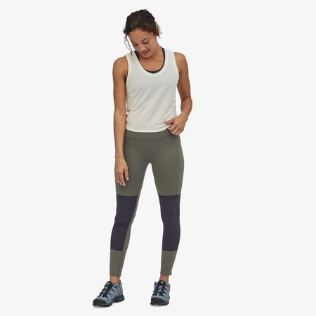 Patagonia Pack Out Hike Tights - Basin Green