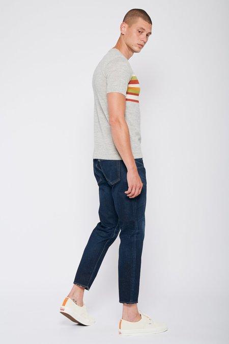 PROPAGANDA AGENCY Multi Chest Stripe Sweater Tee