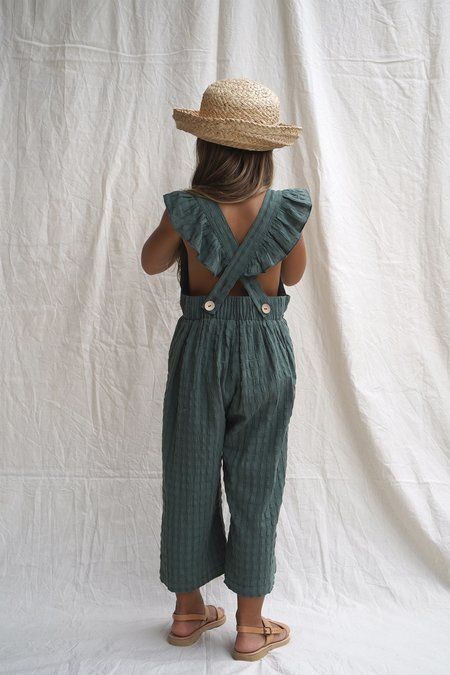 kids House Of Paloma Matilde Overall - Aegean Green