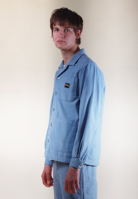 Stan Ray Painters Jacket - grey/blue sateen