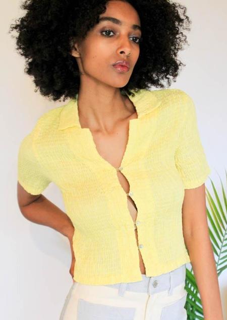 Paloma Wool Josefina Top - yellow