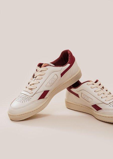 unisex Saye Modelo '89 Sneaker - Garnet