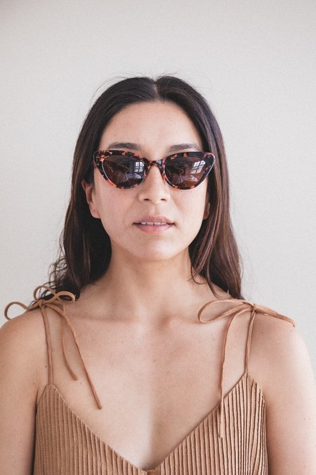 Lowercase Steeplechase Sunglasses - Coral