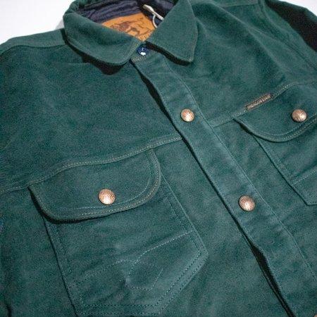Indigofera Copeland Moleskin Shirt - Green