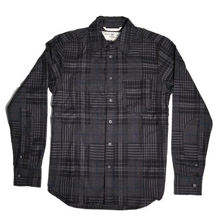 Rogue Territory Jumper Shirt - Grey Abstract Plaid