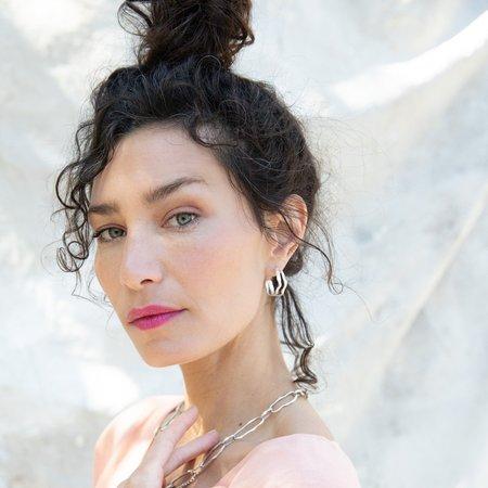 Siri Hansdotter Two Rivers Hoops Earrings