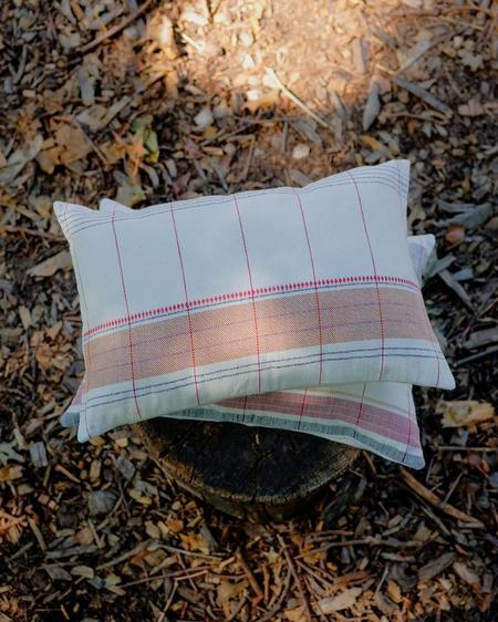 Siri Hansdotter Soil to Studio Roshni Pillow - natural/multi