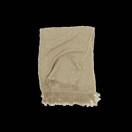 Hawkins New York Simple Linen Throw - Flax