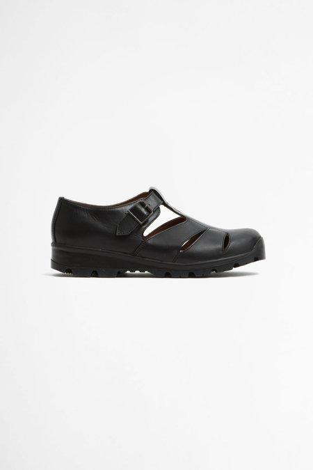 Reproduction of Found Italian military sandal - black