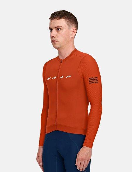 MAAP Evade Pro Base Long Sleeve Jersey top - orange