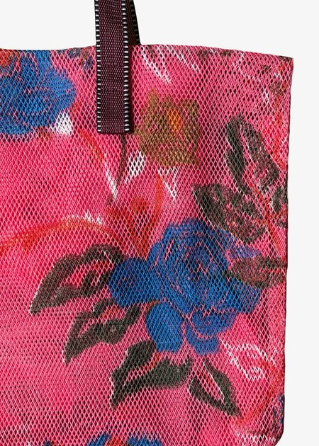 Épice Large Mesh Sac bag - pink