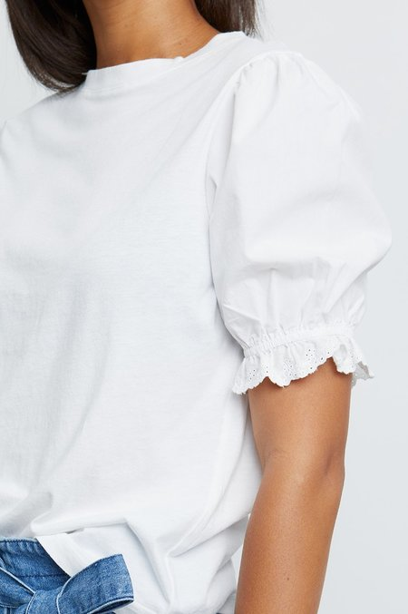 Rails Laurel Top - white