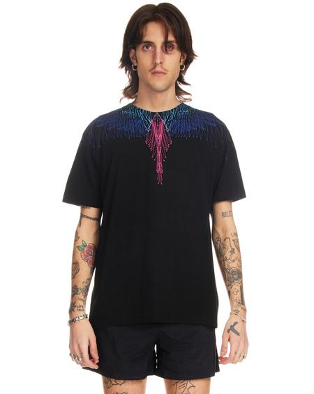 Marcelo Burlon Bezier Wings T-shirt - Black