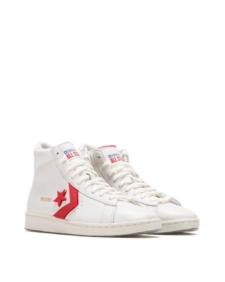 Converse logo High Sneakers - white