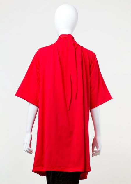 Unisex complexgeometries constriction t-shirt - red
