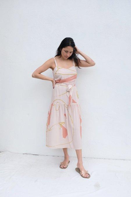 Eve Gravel Ava Dress - Ugo Cream