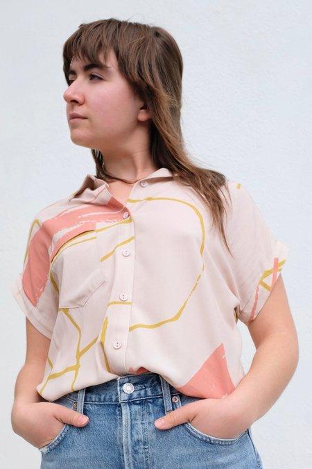 Eve Gravel June Shirt - Ugo Cream