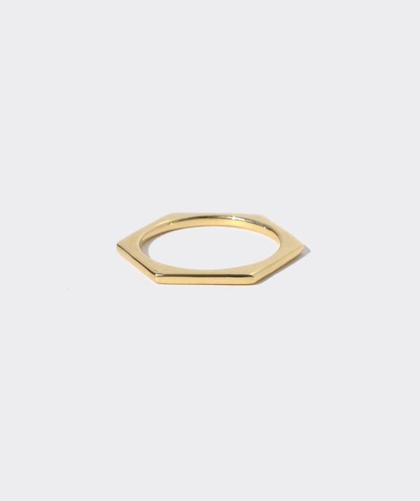 Gabriela Artigas  Lust To Love Mini Hexagon Ring