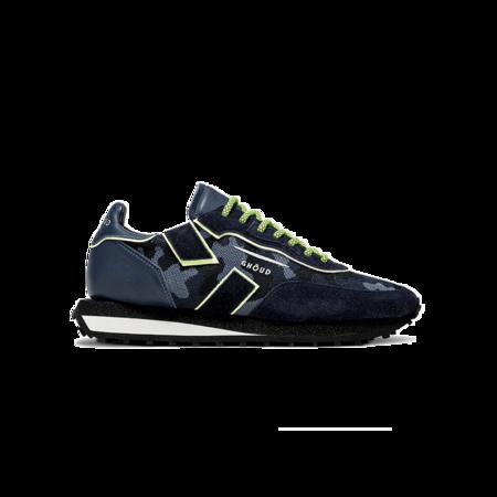 Ghoud Rush Low Sneakers - Camo/Blue