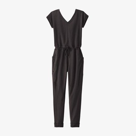 Patagonia Organic Cotton Roaming Jumpsuit - Black
