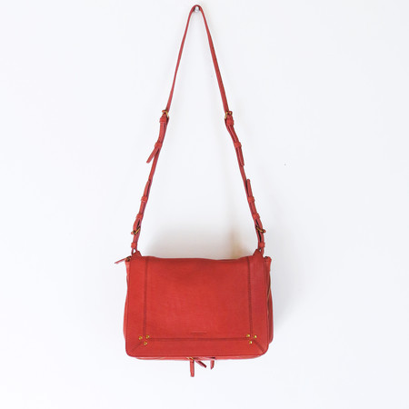 Jerome Dreyfuss Igor Crossbody Bag in Rose Buffalo