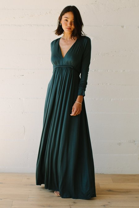Rachel Pally Long Sleeve Full Length Caftan Dress - Elm