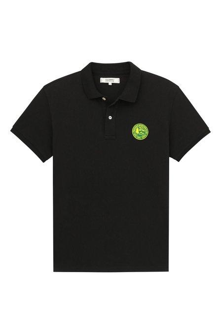 Freemans Sporting Club Knit Polo - Black