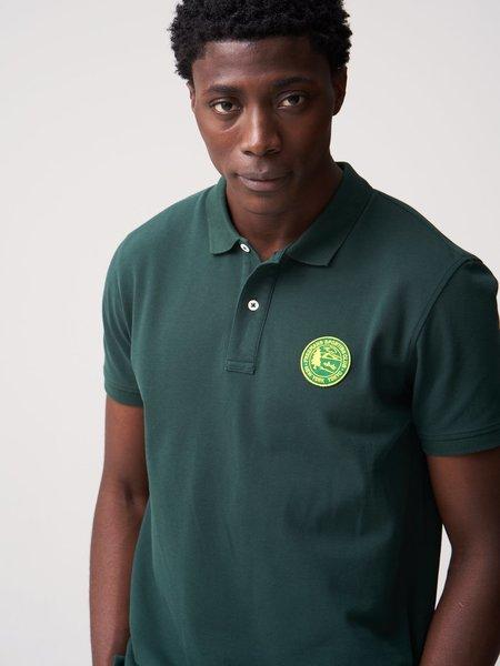 Freemans Sporting Club Knit Polo - Dark Green