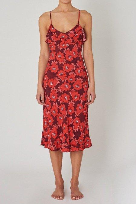 Rollas Jeans Shelley Datura Slip Dress - Raspberry